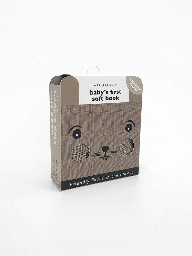 Friendly Faces In the Forest: Baby's First Soft Book