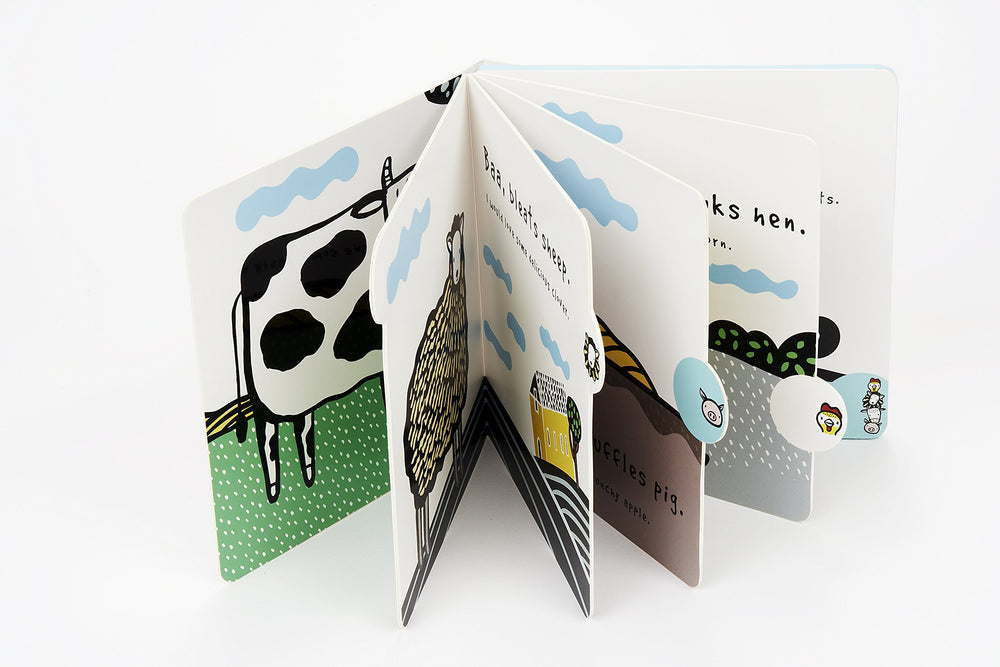 Moo, Cluck, Baa! The Farm Animals are Hungry: A Press and Listen Sound Book