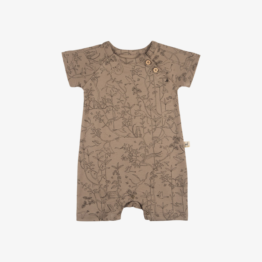 Under the Canopy Organic Pima Jumpsuit in Taupe