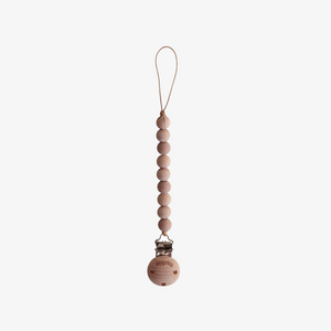 Pacifier Clip - Cleo (wood)