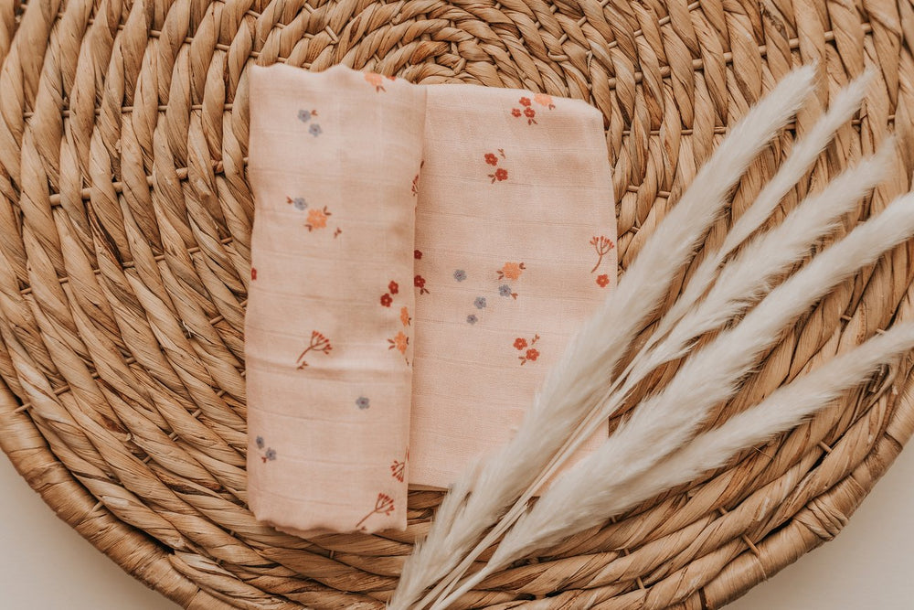 Bloom Muslin Swaddle