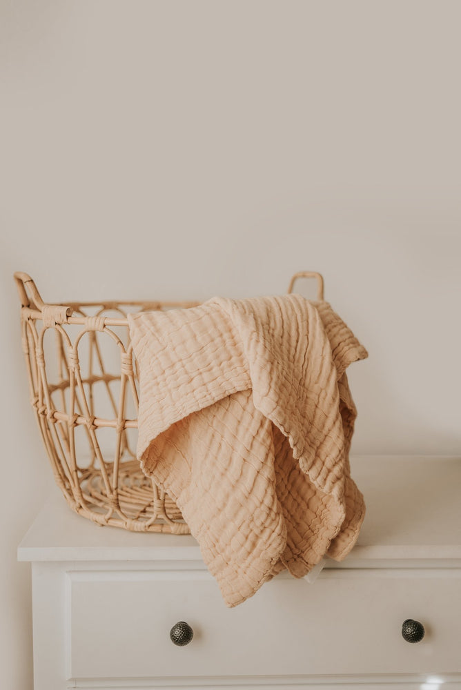 Gauze Blanket in Beige