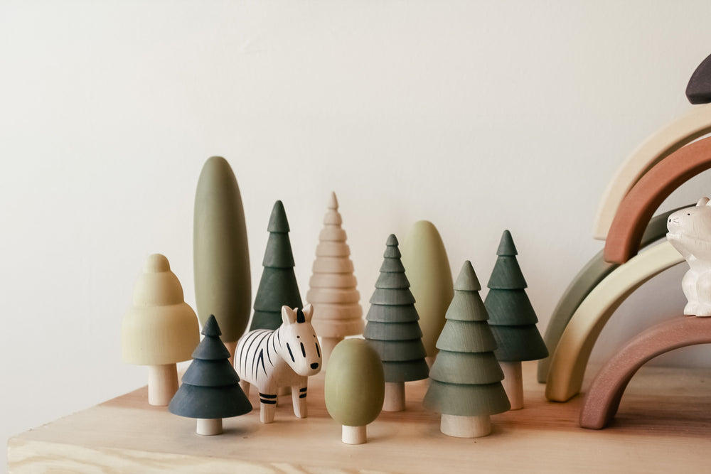 Sabo Wooden Tree Set