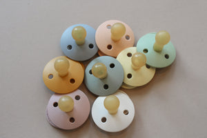 Bibs Natural Pacifiers Size 0-6m