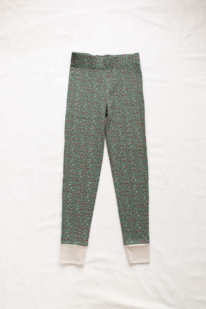 Women's Ribbed Pants in Jardin