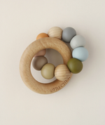 Silicone + Wood Ring Toy - Danni