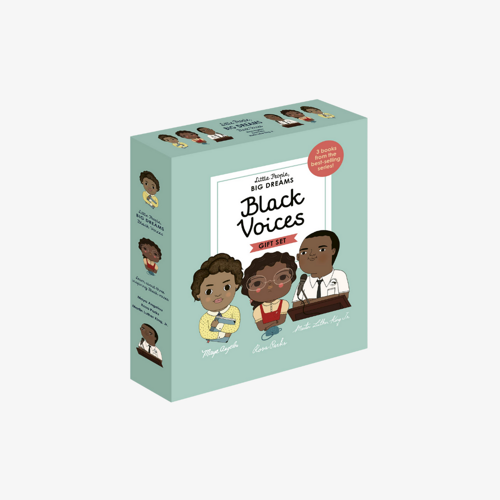 Little People Big Dreams Book: Black Voices