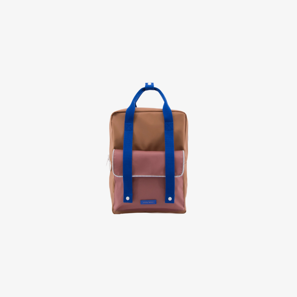 Sticky Lemon Big Kid Backpack Envelope Deluxe | Sugar Brown