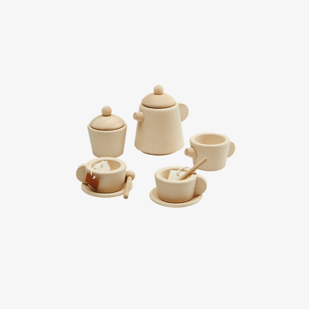 Plantoys Wooden Tea Set