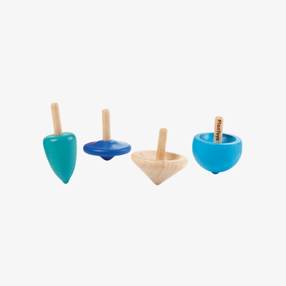 Plantoys Spinning Tops