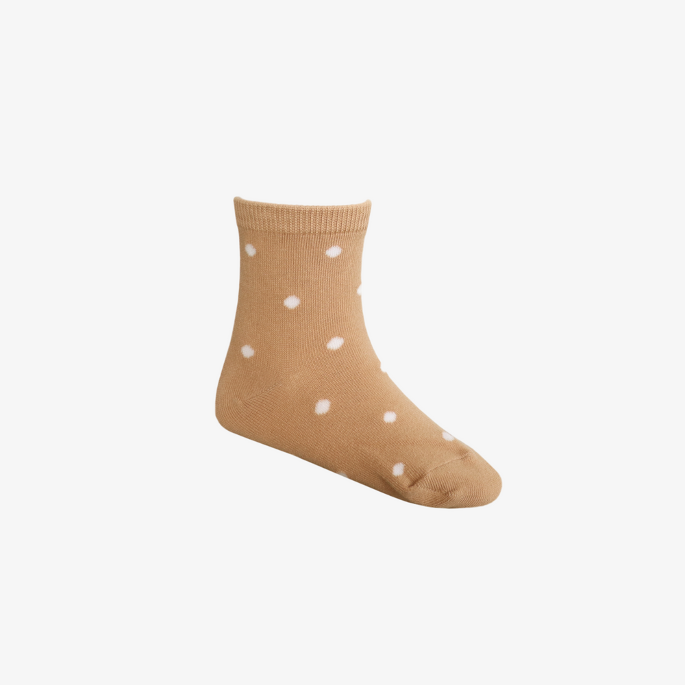 Dotty Sock in Sandy