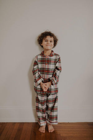 Heirloom Flannel PJ Set