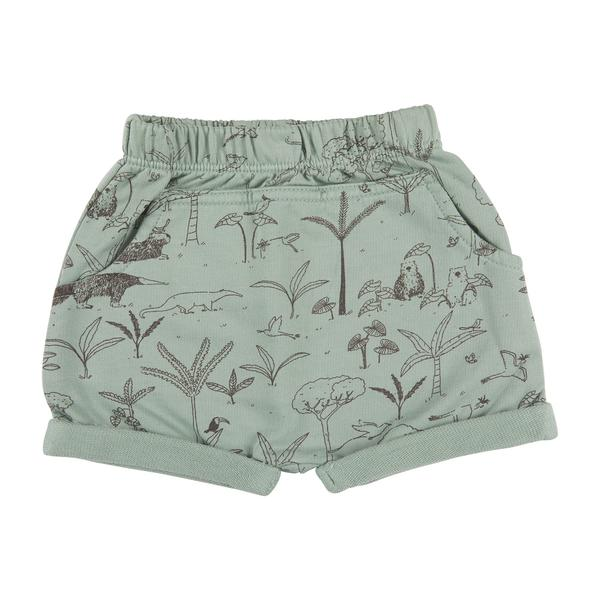 The Story Organic Pima Shorts in Jadeite