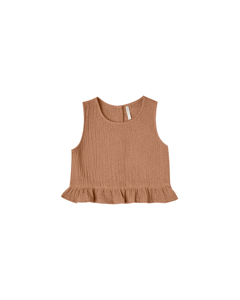 Oceanside Top | Terracotta