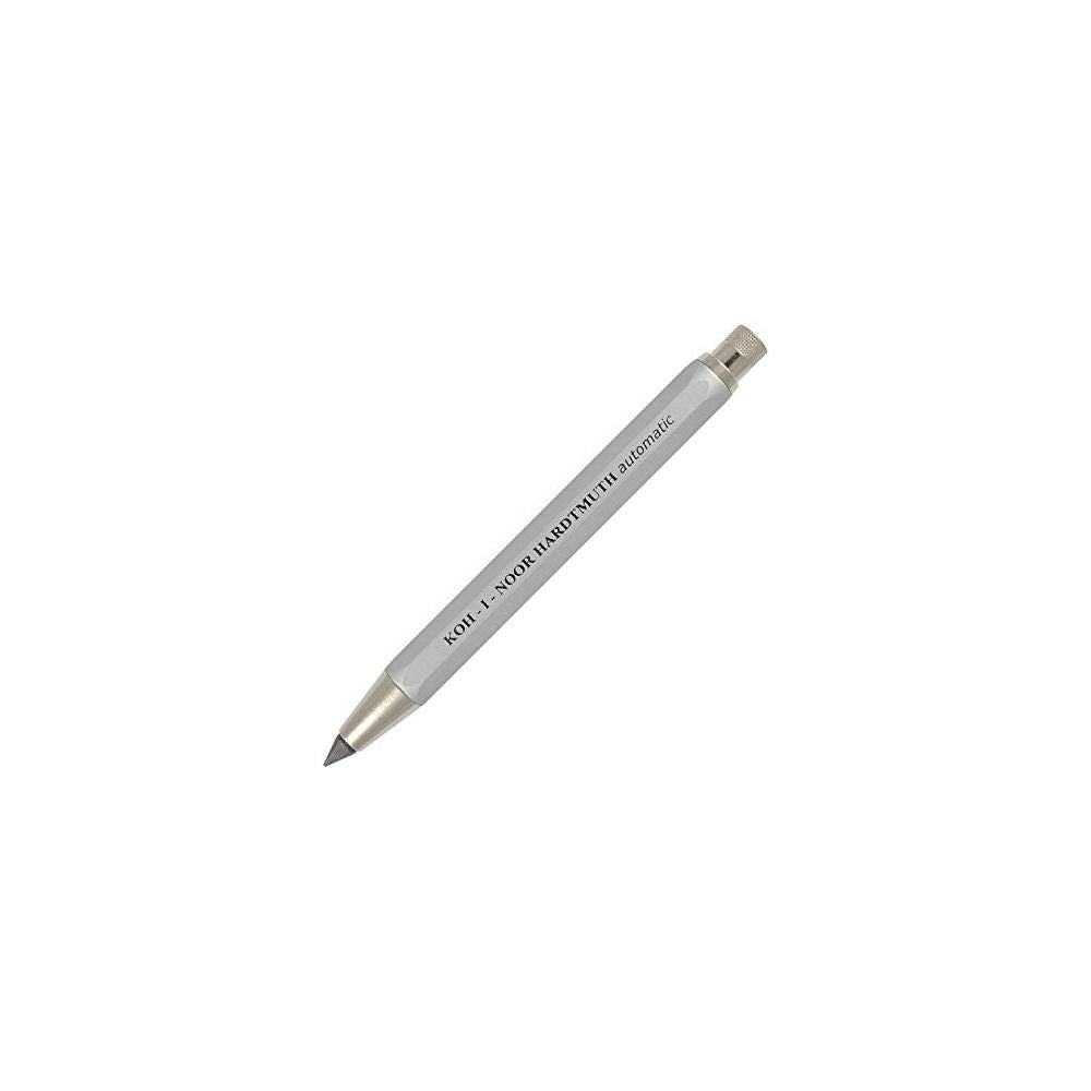 Koh-I-Noor Mechanical Clutch Pencil Lead holder for 5.6mm Leads 5640 Silver