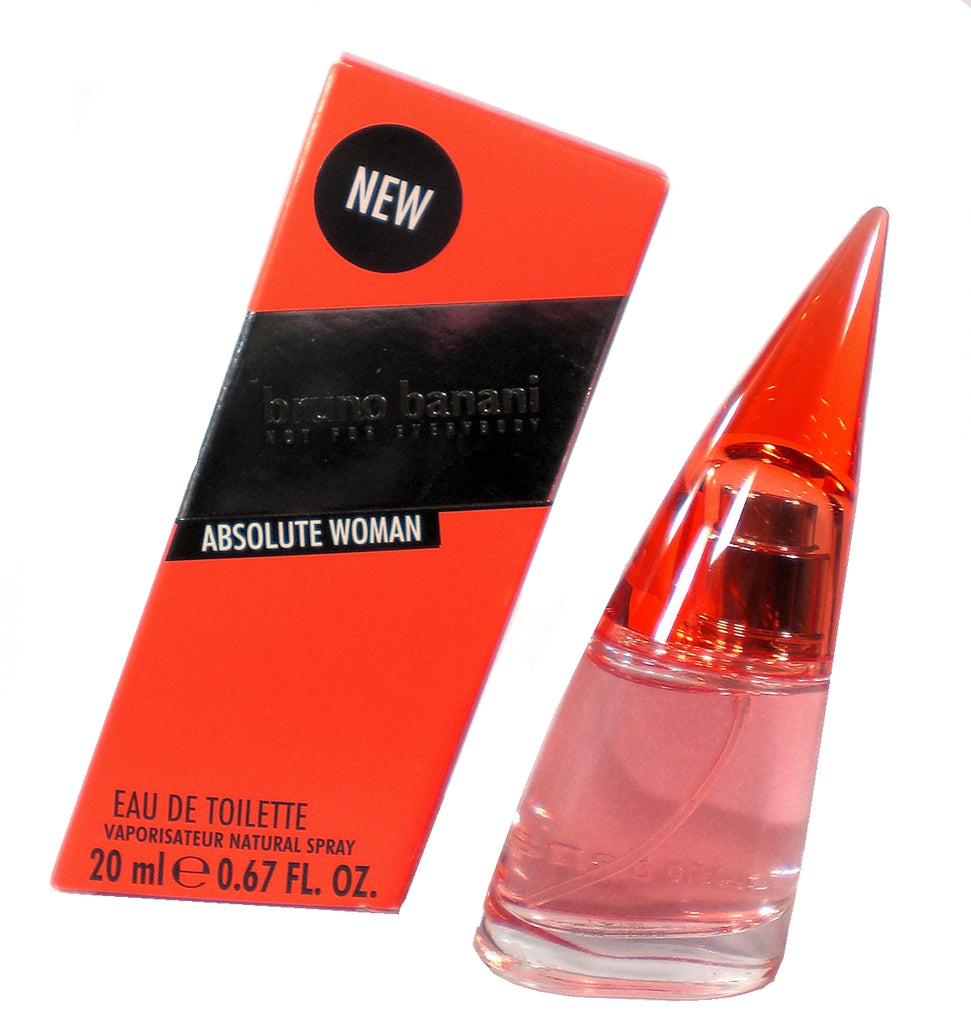 Bruno Banani Absolute Woman 2015 20 ml 0.67 oz EDT Eau de Toilette Perfume for Women