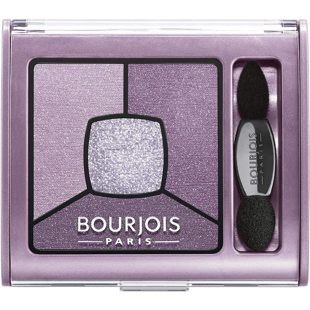 Bourjois Smoky Stories Quad Eyeshadow Palette, 07 In Mauve Again, 0.11 Ounce
