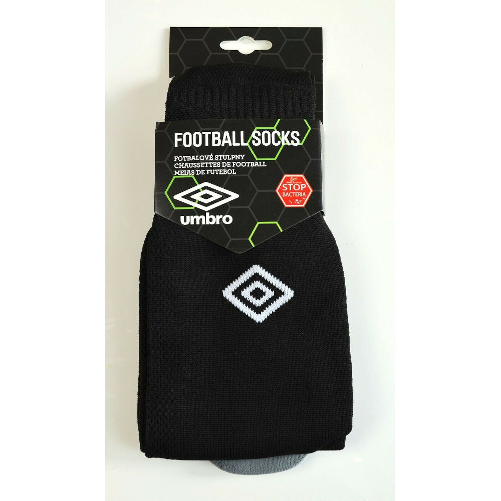 Umbro Football Socks Black Mens Size M / 5-8