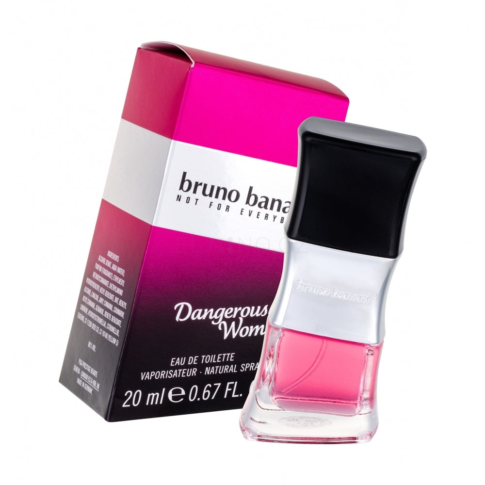 Bruno Banani Dangerous Woman 20ml e 0.67 FL. OZ. EDT New