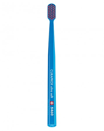 Curaprox Swiss 5460 Ultra Soft Toothbrush Assorted Colors (1 Pack)