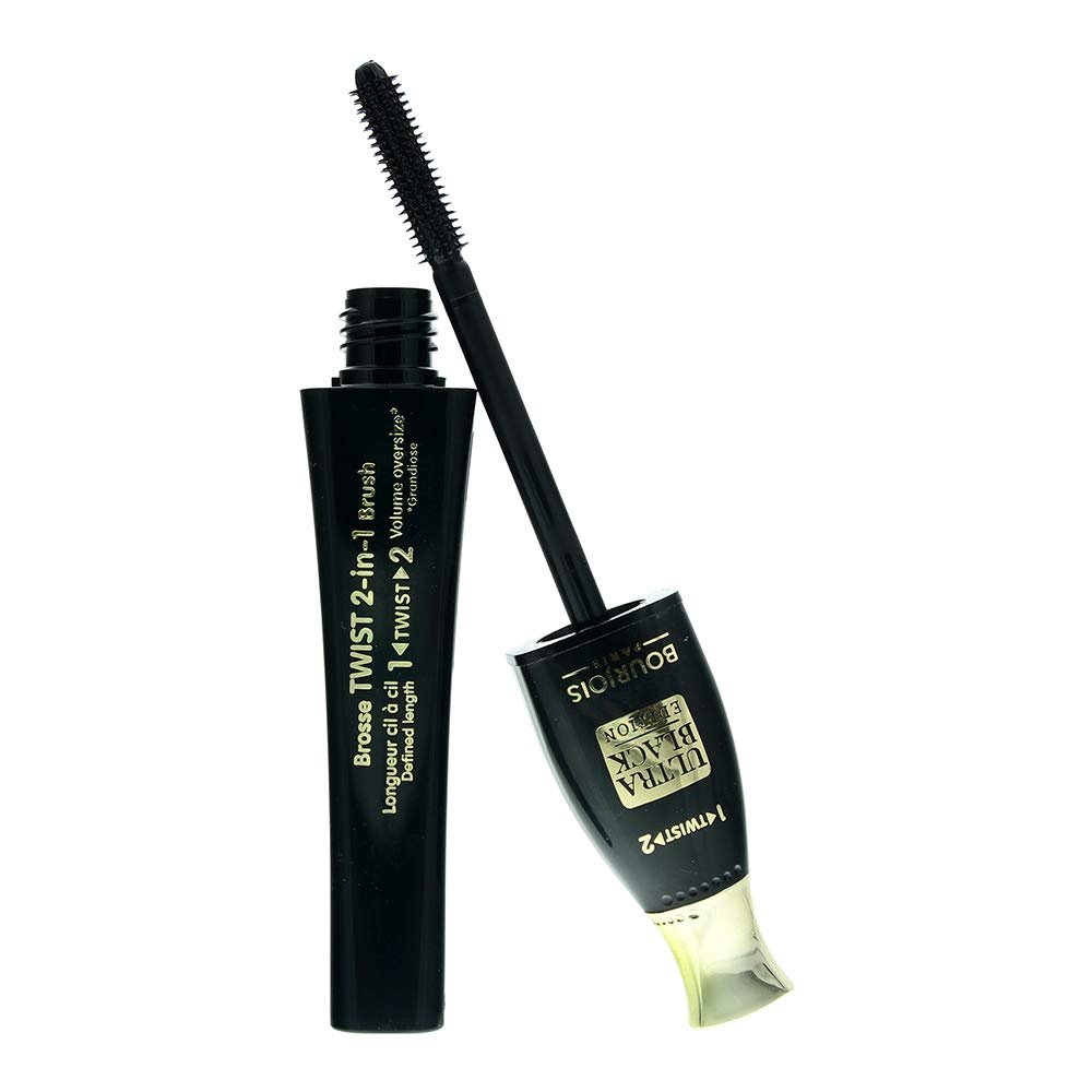 2 x Bourjois Paris Twist Up The Volume Mascara 8ml - 52 Ultra Black Edition New
