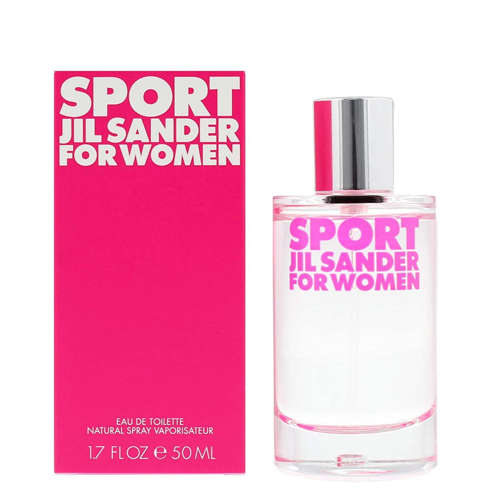 JIL SANDER Sport for women EDT spray 50ml, 1.7 FL.OZ.