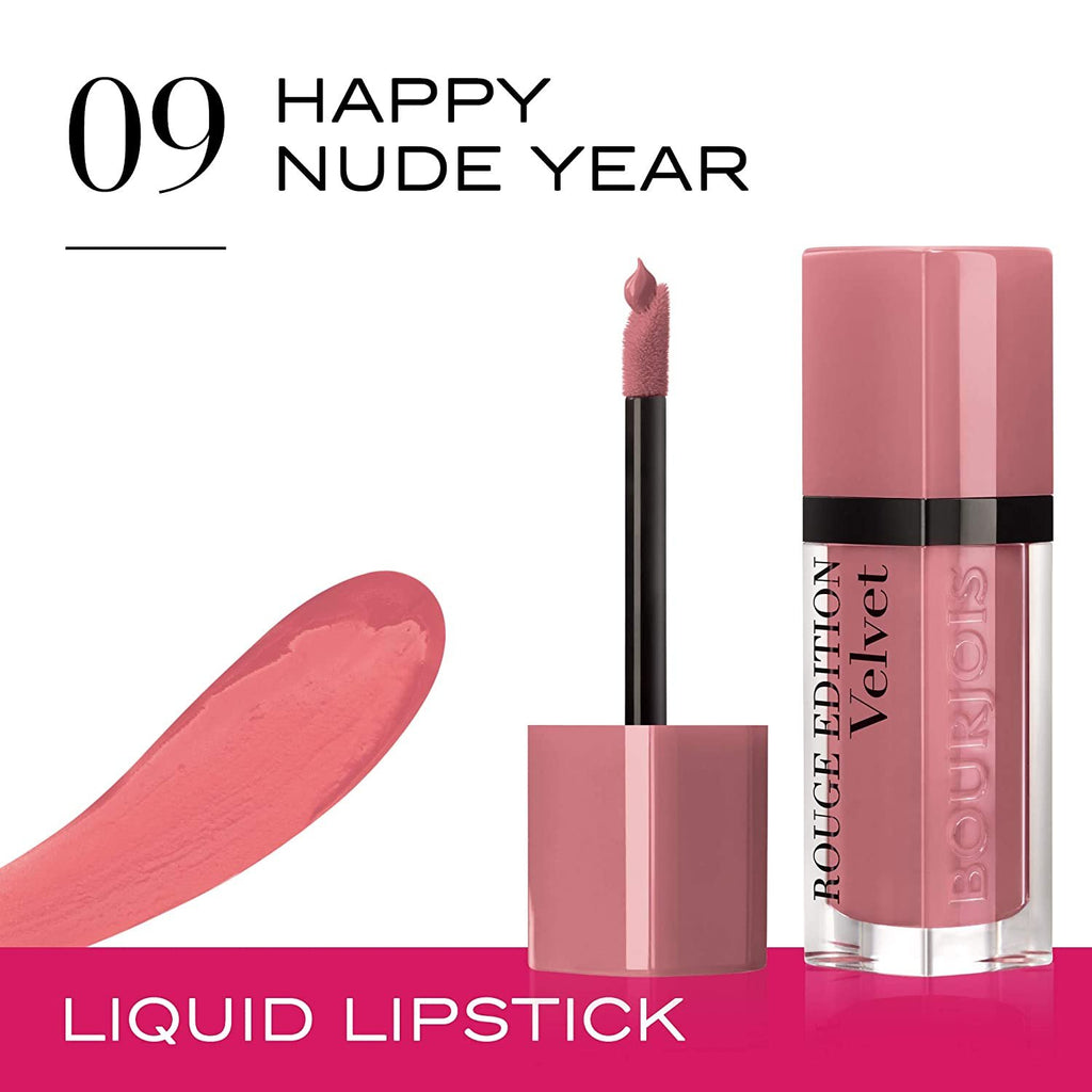 Bourjois Rouge Edition Velvet 09 Happy Nude Year