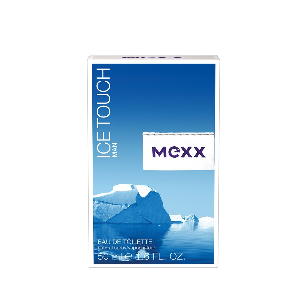 Mexx Ice Touch Man Eau de Toilette 1.6 oz (50ml) Spray