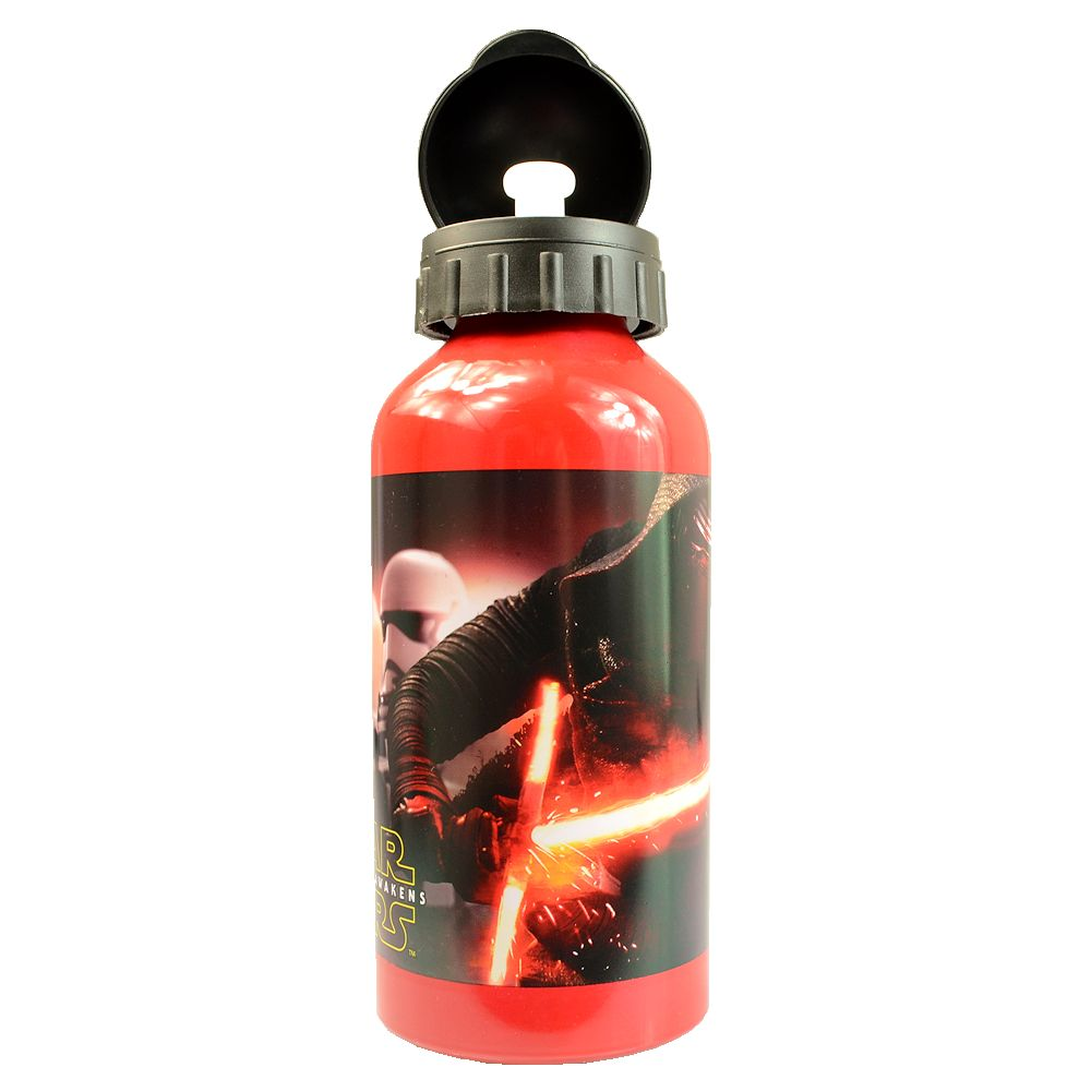 Star Wars The Force Awakens Aluminum Water Bottle 400ml 13.52 Fl. Oz.