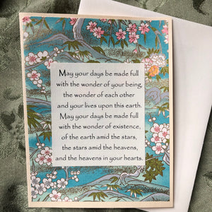 Wedding Blessing Cards