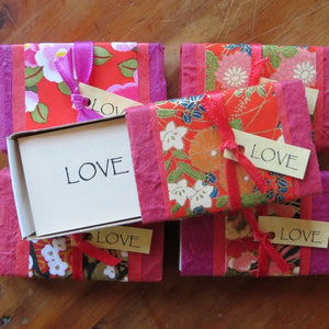 Love Box ~ little match box of inspiring quotes