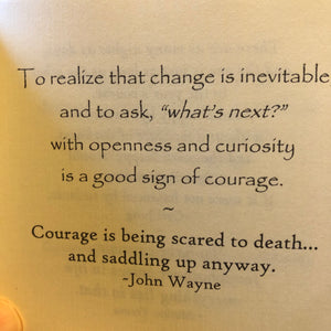 Courage, a book of comfort for difficult times