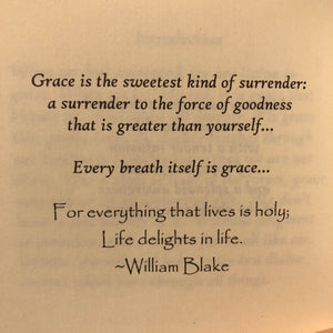The Abundance of Grace ~ inspiring quotations & reflections