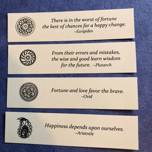 100 Fortunes ~ a wonderful pack of world wisdom
