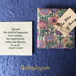 Bliss of Being~52 quotation cards for centering in the heart