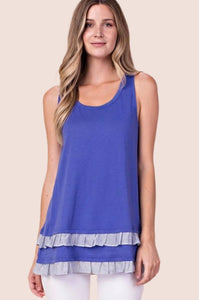 Frilled Tank Top {S/M/L}