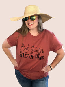 Beth Dutton State of Mind Graphic Tee {S/M/L/XL/2XL}