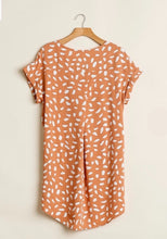 Load image into Gallery viewer, Apricot Dalmatian Print Dress {S/M/L/XL/1XL/2XL}