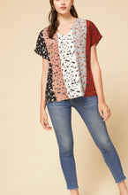 Load image into Gallery viewer, Multi Color Animal Print Top {S/M/L/XL/1XL/2XL}