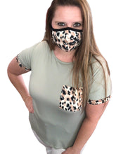 Load image into Gallery viewer, Leopard Printed Face Masks
