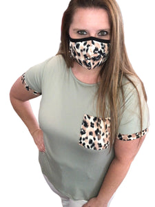 Leopard Printed Face Masks