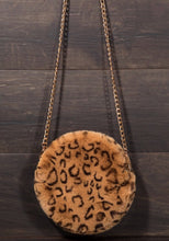 Load image into Gallery viewer, Leopard Plush Crossbody
