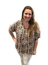 Load image into Gallery viewer, Flowy Leopard Top {1XL/2XL/3XL}