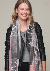 Mixed Animal Print Scarf ( 60% OFF )