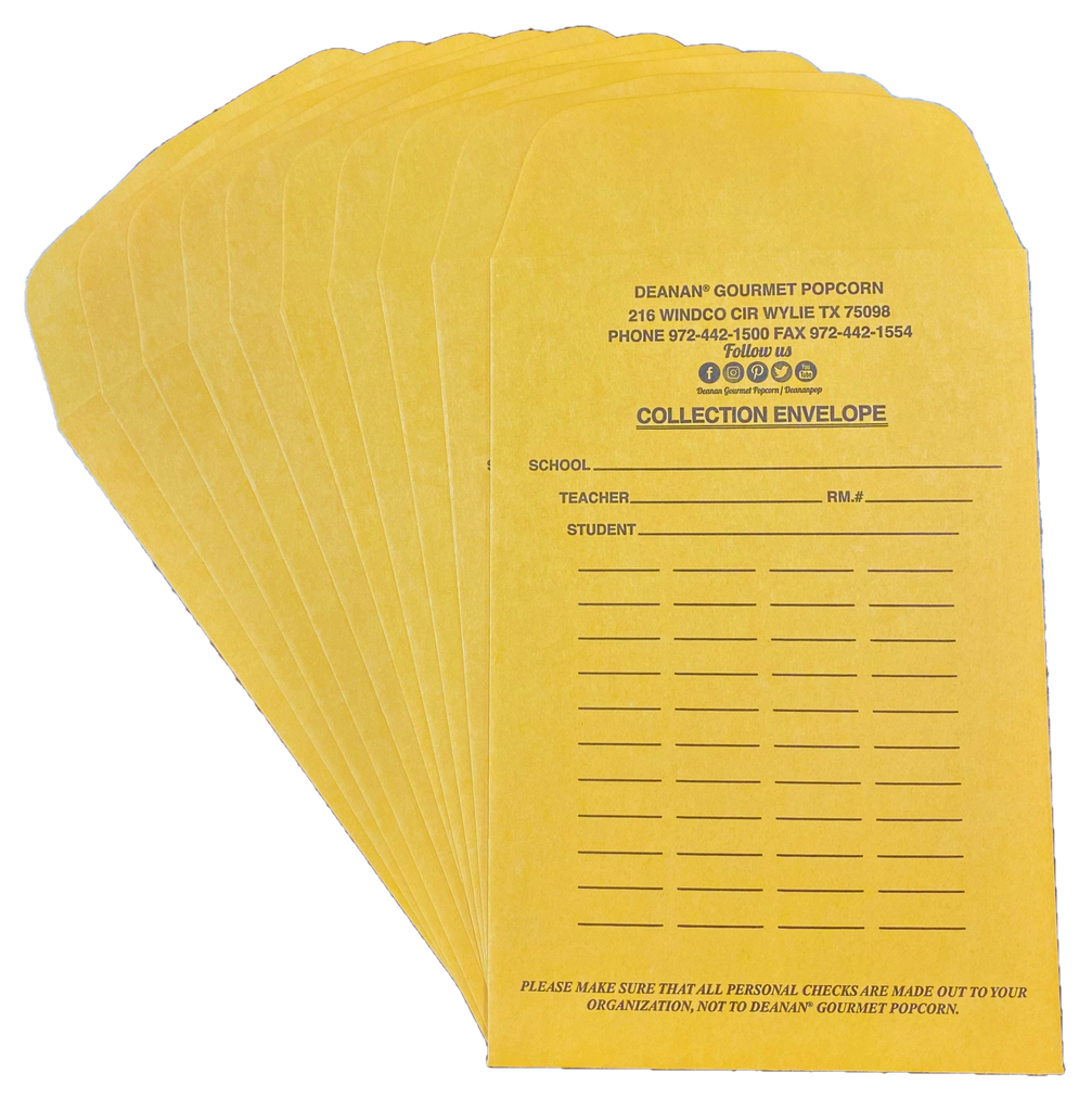 Extra $ Envelopes (set of 10)