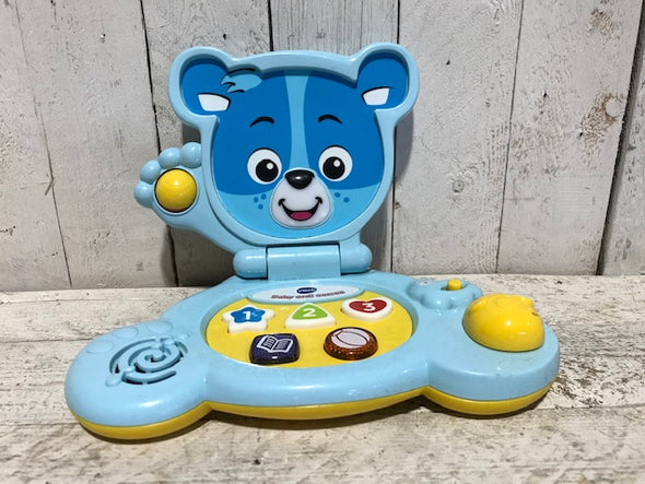 Ordi ourson Vtech (fonctionne à batterie)
