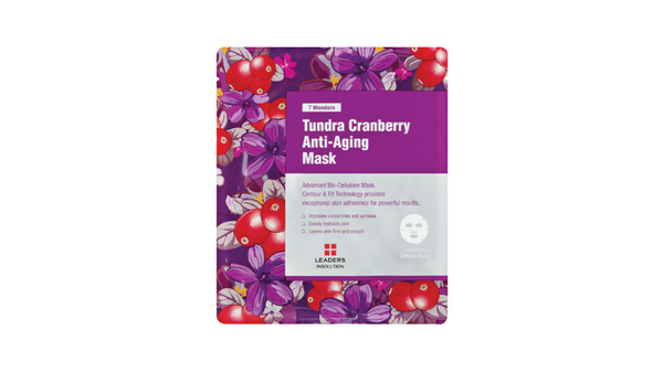 [LEADERS] 7 WONDERS Tundra Cranberry Anti-Aging Mask