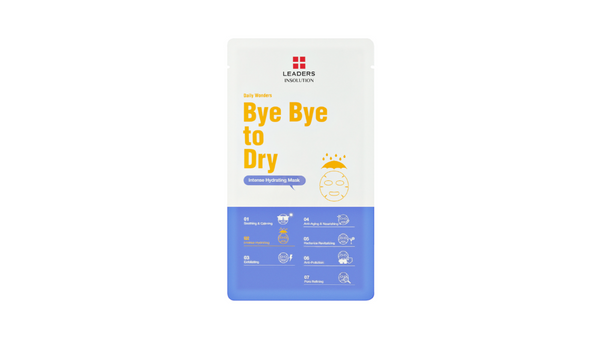 [LEADERS] DAILY WONDERS  Bye Bye to Dry / Intense Hydrating Mask
