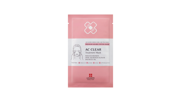 [LEADERS] TREATMENT Mask - AC Clear / Balances Oil