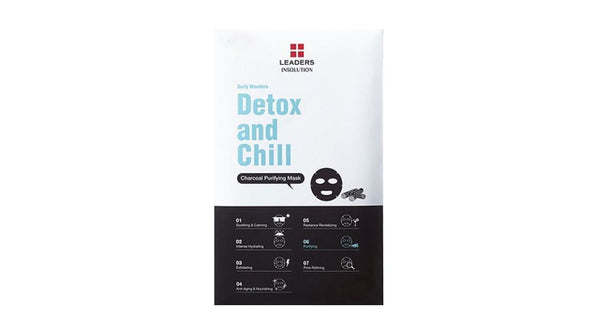 [LEADERS] DAILY WONDERS  Detox and Chill / Charcoal Purifying Mask